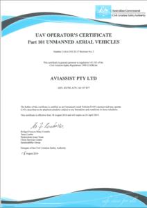 Remote Operator Certificate