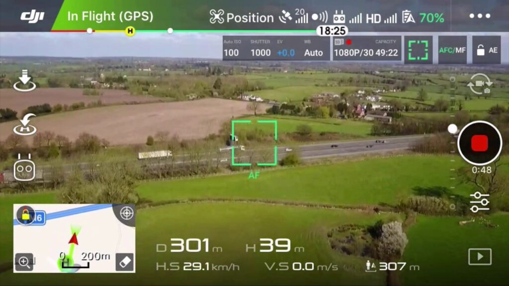 Is your drone telling you the correct height to operate?
