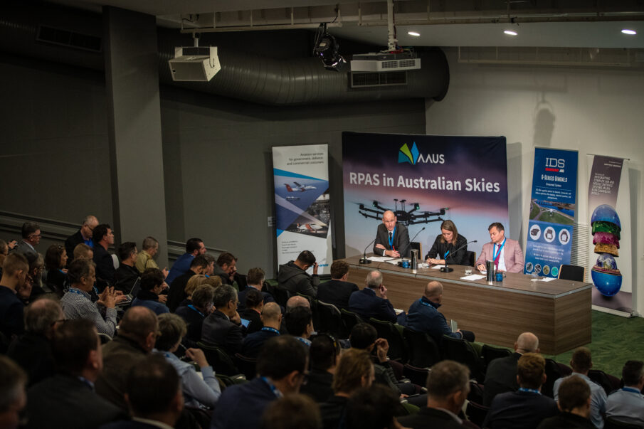 drone industry awards in conjunction with RPAS in Australian Skies conference