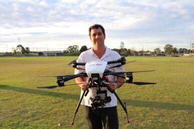 Commercial Drone 15kg
